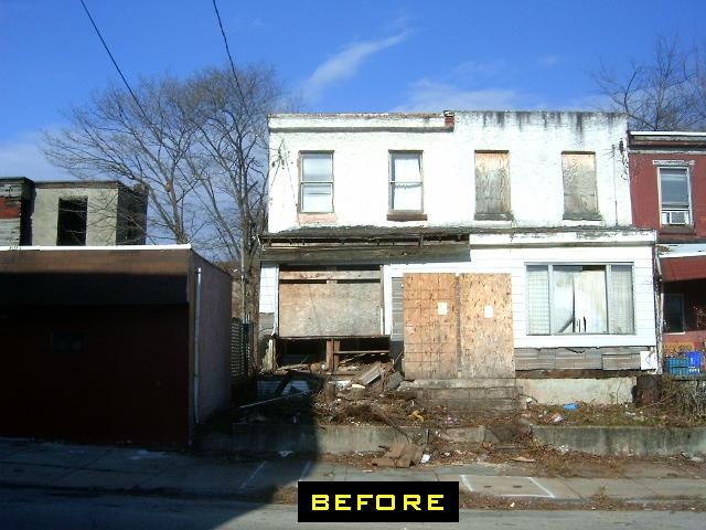 WPRE - 3851-53 Wallace  Street - Before